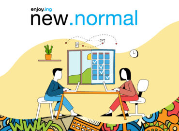 Enjoying the new normal enjoy.ing