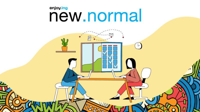 Enjoying the new normal enjoy.ing