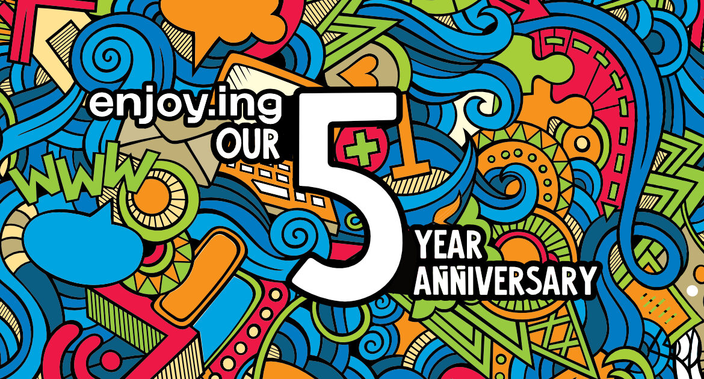 celebrat.ing 5 years